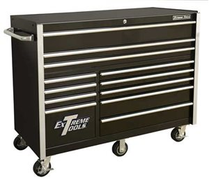 "Picture of EXTREME TOOLS RX552512RC 55"" 12 DRAWER ROLLING TOOL CABINET"
