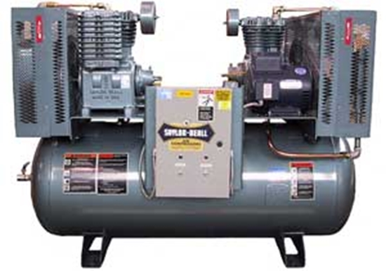 Picture of Duplex Air Compressor Saylor-Beall X-735-120