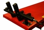 wheel vise on PRO 2500 lift table