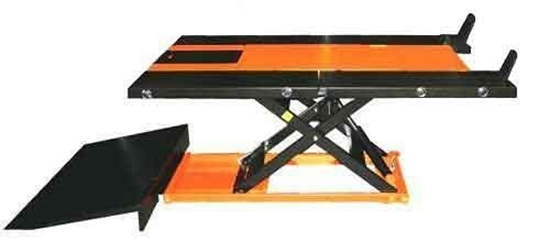 PRO 2500M Lawnmower lift Riding mower lift -orange and black