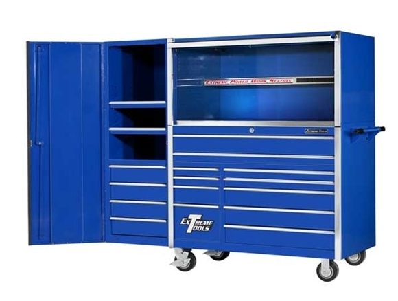 Picture of Extreme Tool Box Set - Rollcab, Hutch + Side Locker EX5511HRCL
