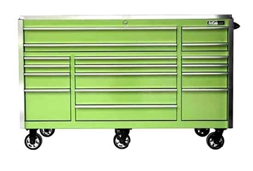 "Green Quick Latch 72"" Roll Tool Box"
