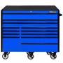 CRX5525 Blue with Black Trim Roller Cabinet